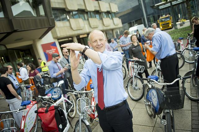 Michael Kloth calls time on the bike tour