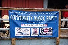 Community Block Party @ CBMM (Chesapeake Bay Maritime Museum Photos) Tags: old friends party lighthouse st point community board event block volunteer winnie hooper strait michaels estelle sultana cbmm