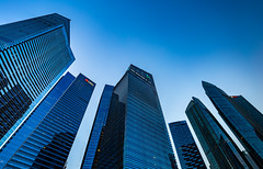_MG_5519_web - Marina Bay Financial Center, Singapore (AlexDROP) Tags: city travel sky urban colour skyline architecture night singapore postcard famous best bluehour scape picturesque iconic hdr mustsee 2015 canon6d ef16354lis