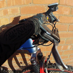 Klein Mantra Pro (Speeds Cycles, Bromsgrove) Tags: klein retro workshop carbon xtr fullsuspension gopro speedscycles