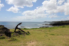 Anchor (gripspix (OFF)) Tags: chile sea southamerica rock lava meer chili anchor fels flotsam strandgut easterisland anker rapanui isladepascua sdamerika osterinsel 2010092129
