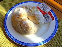 Pan y Mantequilla (knightbefore_99) Tags: morning west bread mexico coast pain cool tasty mexican butter oaxaca pan bun huatulco beurre mantequilla tangolunda