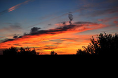 Fire sky (Turist of the World) Tags: travel sunset portugal nikon prdosol alentejo arronches