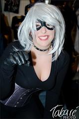 Black Cat (Tabaré Neira) Tags: madrid black hot sexy girl cat blackcat costume comic cosplay gata marvel negra tabare 2011 expocomic gatanegra valaingaur