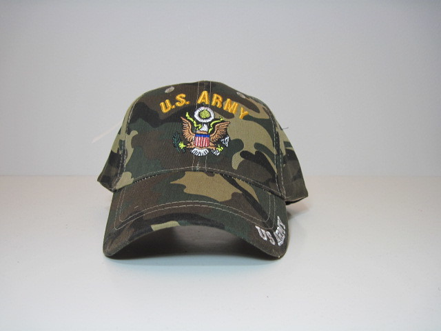 Embroidered US army Baseball Hat Cap Adjustable Velcro Back New (http   www 257f788aa05f