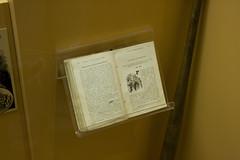 The Way Not to Keep a Book Stored (IvanTortuga) Tags: usa mi book unitedstates display michigan artifact artefact negaunee miim michiganironindustrymuseum