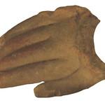 """<b>Hand</b><br/> """"Hand""""  Clay, n.d. (Pre-Columbian) LFAC #716<a href=""""http://farm8.static.flickr.com/7003/6466102559_472e34eaf6_o.jpg"""" title=""""High res"""">∝</a>"""