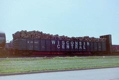 Wisconsin Central 65057 (Slider Jake) Tags: gon pulpwood neenahwisconsin 65057 wisconsincentral65057 wc65057