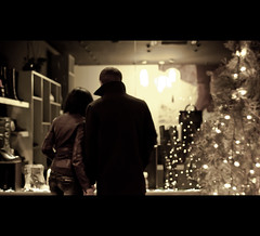 the shoes shop (valentin dontov) Tags: christmas winter light cinema window shop night 50mm store nikon shoes couple december mare shot si cel stefan romania nikkor f18 cinematic iasi decembrie moldova craciun moldavia noapte d300 iarna 2011 cuplu sfant mygearandmepremium mygearandmebronze