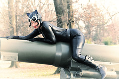 Playful Kitty (VictoriaCosplay) Tags: leather cannon batman latex dccomics bodysuit catwoman annehathaway cosplaygirl victoriacosplay arkhamcity darkknightrises wwwvictoriacosplaycom
