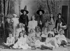 Costume day at St. James' Presbyterian Church Sunday School, Bowen, ca. 1912 (State Library of Queensland, Australia) Tags: costumes children fancydress sundayschool statelibraryofqueensland