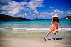Beach and Girl