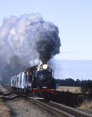 200207dd_nnn31_EOS300 Ab663 with steam special (johnstewartnz) Tags: film canon fuji rail ab scan steam predigital epson provia eos300 462 v700 midlandline ab663