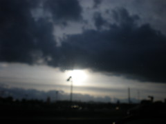 SUN IN CLOUDS (AMADORPEREZ1) Tags: sunsets and mountans