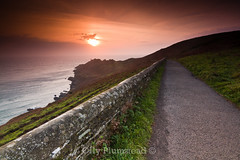 Start Point Dawn {explored} (Olly Plumstead) Tags: orange sun lighthouse seascape green wall start sunrise canon point landscape photography dawn sigma line foundation devon filter lee kit olly 1020 leading hitech plumstead gnd 450d