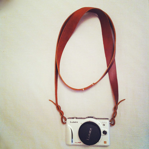 My DIY Leather Camera Strap