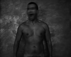 """Gerundio"" - Milano 2011 (Massimiliano Ranuio) Tags: black art nude grey grigio arte arms legs uomo scream scenario bianco nero amore luce urlo libert nudo petto braccia halflight tormento penombra"
