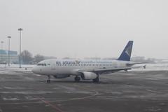Air Astana Airbus A320-200 P4-SAS (Treflyn) Tags: holiday plane airplane airport republic anniversary air aeroplane national ala airbus years 20 kazakhstan celebrate markings 20th complete airliner almaty celebrating astana a320200 p4sas