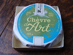 Chevre d'Art (knightbefore_99) Tags: france cheese french goat queso fromage chevre lesamis ripened portneuf