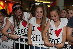 Reece Mastin fans