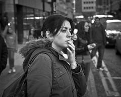 the truth is out there (Andre Delhaye) Tags: street portrait england manchester young streetphotography olympus marketstreet olympuspen zuiko 45mm ep3 blackandwhitephotography marketst digitalpen m43 mft blackandwhitephotographs blackandwhitepictures blackandwhitephotographer micro43 microfourthirds 45mm18 43 andredelhaye andredelhayecom olympusdigitalpen blackandwhitephotographypictures blackandwhitephotographers andredelhayenet olympusep3 andredelhayephotographer olympusm45mmf18 olympusmzuikodigital45mm118 olympus45mm18