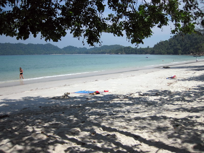 Beach in front of Vijits south Ao Khao Kwai beach