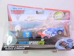 disney cars 2 raoul caroule launcher (jadafiend) Tags: scale kids toys model disney puzzle pixar remotecontrol collectors adults variation francesco launcher cars2 crewchief lightningmcqueen lewishamilton targetexclusive kmartexclusive collectandconnect raoulcaroule jeffgorvette johnlassetire carlomaserati piniontanaka carlavelosocrewchief mcqueenalive denisebeam meldorado pitcrewfillmore francescoscrewchief