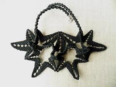 Girocollo nero millefoglie (patty macram) Tags: collier bijoux macrame collane gioielli margarete macram crazioni margaretenspitze