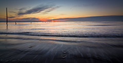 Early Morning Waves (King Ricker) Tags: sunrise canon landscape rebel tokina t2i 1116mm