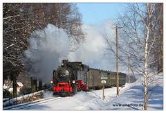 ZOJE - 2011-01 (olherfoto) Tags: railroad schnee winter train eisenbahn rail railway steam locomotive bahn gauge narrow dampflok zittau oybin dampfzug schmalspurbahn jonsdorf