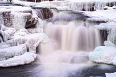 Frozen Winterland (Perry McKenna) Tags: ice water canon frozen bravo f14 waterfalls 25 justforfun almonte iso50 104mm notpartofa365