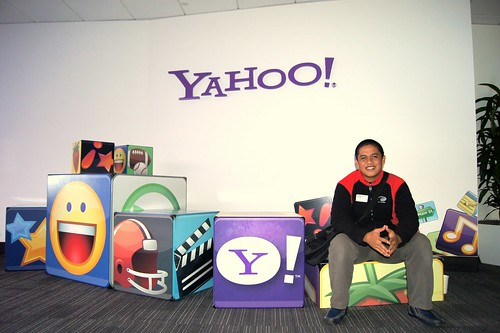IEC Winner Capung Team at Yahoo Complex, Sillicon Valley
