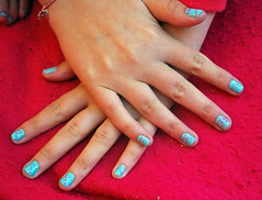 Peppermint and pink (@JBOccyTherapy) Tags: art glitter design misc nail polish jo pedicure southall own varnish maincure