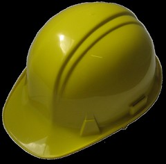 Yellow safety hat [transparent]