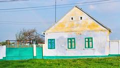 Masloc Country House, Romania (PM Kelly) Tags: door house colour green home window rainbow romania fade rumania arad timisoara timis dwwg outstandingforeignphotographersvisitingromania pmkphoto masloc