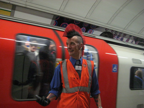 Mind the Mohican - Guess Where Tube 14 by Annie Mole, on Flickr