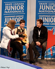 Mitchell Gordon (Melanie Heaney) Tags: men sports action coaching figureskating eileenmurphy kissandcry keeganmurphy 2011canadians mitchellgordon