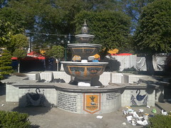 FUENTE COTENEDOR DE BASURA (Mazatlax) Tags: basura contenedores tlaxcala municipios sanpablodelmonte