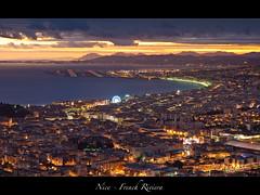 Nice Sunset (jpmiss) Tags: nice sunset côtedazur frenchriviera coucherdesoleil jpmiss olympus e620 airport promenadedesanglais france flickrunitedaward