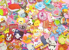 Lovely Flakes (Hazel) Tags: anime cute sticker kawaii sack flakes