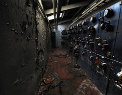 The mile of dials. (magoo) Tags: urban abandoned decay sheffield brickworks exploration derelict thermal deserted dyson magoo