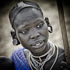 mare surma (hamerscat) Tags: ethiopia surma donga