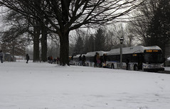 Urbana High School Dismissal Boarding (CUMTD) Tags: mtd publictransportation universityofillinois urbana champaign winterweather cumtd masstransitdistrict champaignurbanamasstransitdistrict