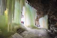 """Eben Ice""  Eben Ice Caves - Eben Junction, Michigan - Rock River Wilderness (Michigan Nut) Tags: winter snow cold ice nature geotagged frozen waterfall midwest michigan columns eben cave wilderness slippery formations snowscape frozenwaterfall icemonster jabbathehut johnmccormick eban icecurtains ebenicecaves rockriverwilderness"