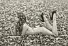 Waiting - 1 (Ben Heine) Tags: eve autumn wild woman blur flower cute green art fall love nature fleur beauty grass leaves sepia youth garden season asian photography sadness spring model waiting shoot perfume dress belgium belgique body robe femme curves profile makeup jardin vert fresh jeunesse delight improvisation smell sunflower shooting balance canon5d shape redhair eternity maquillage tournesol fatal feuilles verdure rousse patience feuille lierre snif cameleon splendour markii blackshoes attente parfum eternalyouth benheine sensualgirl braives flagrance michaellemarkus jeunesseeternelle carolinemadision