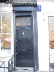 21 Warren Street (camdenphotos) Tags: door london george doors camden entrance council georgian survey westend entrances caac bloomsburyconservationarea bloomsburyconservationareaadvisorycommittee