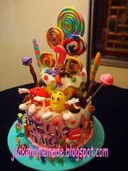 candy birthday cake (Jcakehomemade) Tags: candy lollipop chocolatebar chocolatecake madetoorder funcake partycake 3dcake secondbirthdaycake customizedcake mmbirthdaycake mmschocolate wwwjcakehomemadeblogspotcom cutebirthdaycake jessicalaw candybirthdaycake childrennoveltycake ameliaangsbirthday