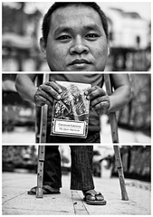 Triptychs of Strangers #29: The highly recommended Mekong Expert - Ho Chi Minh City (adde adesokan) Tags: street travel people pen photography asia streetphotography documentary olympus vietnam ep3 streetphotographer m43 mft mirrorless microfourthirds theblackstar mirrorlesscamera streettogs addeadesokan