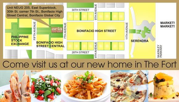 Aria Cucina Italiana Italian Flavors From Boracay In Manila Very Soon Promo Alert Certified Foodies