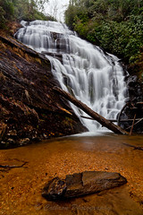 King Creek Falls (John Cothron) Tags: winter usa cold nature water rain rock fog creek forest 35mm canon river morninglight waterfall log stream outdoor southcarolina environment flowing protected freshwater oconeecounty mountainhome francismarionnationalforest chattoogariver kingcreek palmettostate kingscreekfalls sumternationalforest mountainrest johncothron 5dmkii cothronphotography zeissdistagont21mm28ze